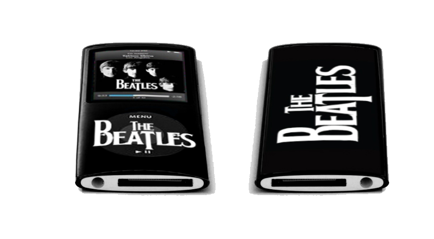 the beatles mp3 player