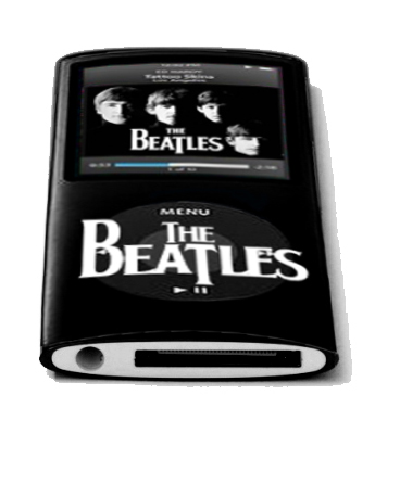 the beatles mp3 players