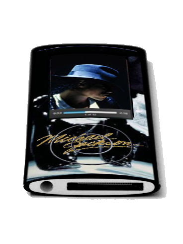 michael jackson mp3 player cover
