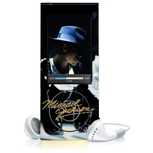 Michael Jackson mp3 player